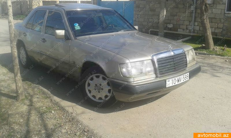 Mercedes-Benz E 230 2.3(lt) 1990 İkinci əl  $3130