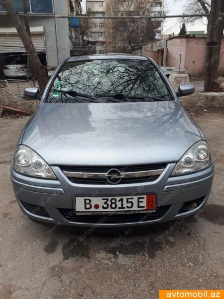 Opel Corsa 1.2(lt) 2006 İkinci əl  $6400