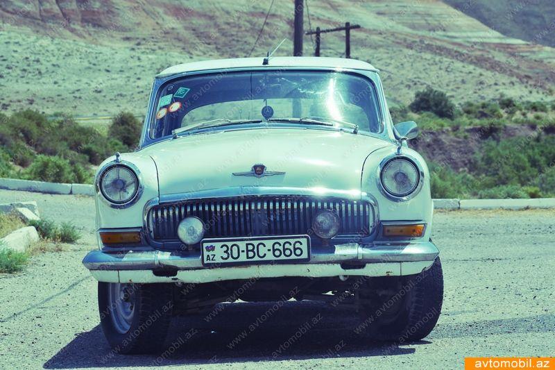 GAZ M 21 2.4(lt) 1964 İkinci əl  $3550
