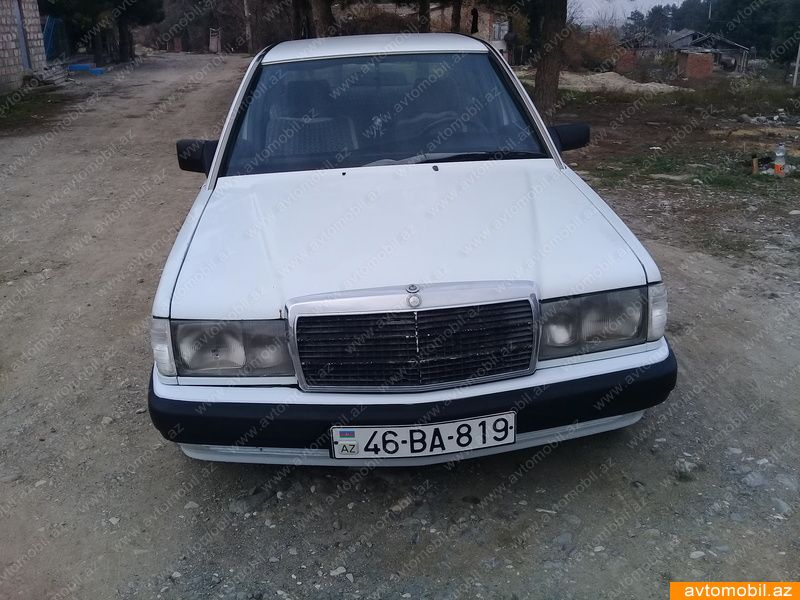 Mercedes-Benz 190 2.0(lt) 1989 İkinci əl  $5000
