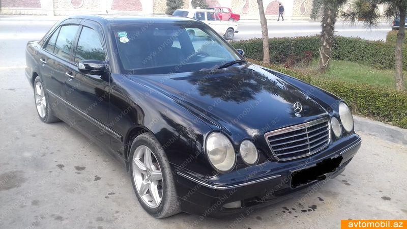 Mercedes-Benz E 240 2.6(lt) 2001 Подержанный  $7850