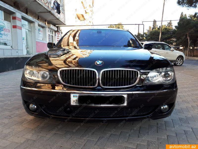 BMW 750 4.8(lt) 2007 Подержанный  $17800