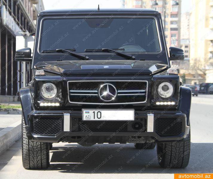Mercedes-Benz G 500 5.5(lt) 2010 İkinci əl  $68000