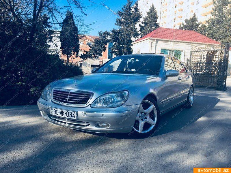 Mercedes-Benz S 430 4.3(lt) 2000 Подержанный  $5720