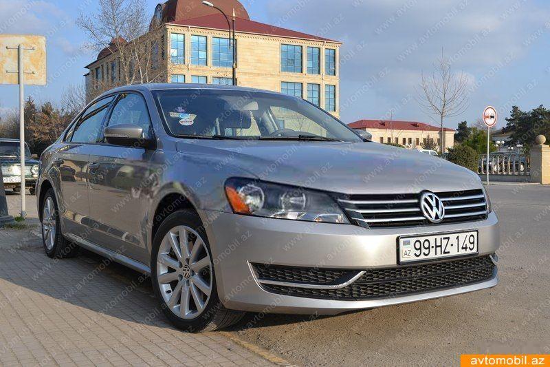 Volkswagen Passat 2.5(lt) 2012 Подержанный  $12690