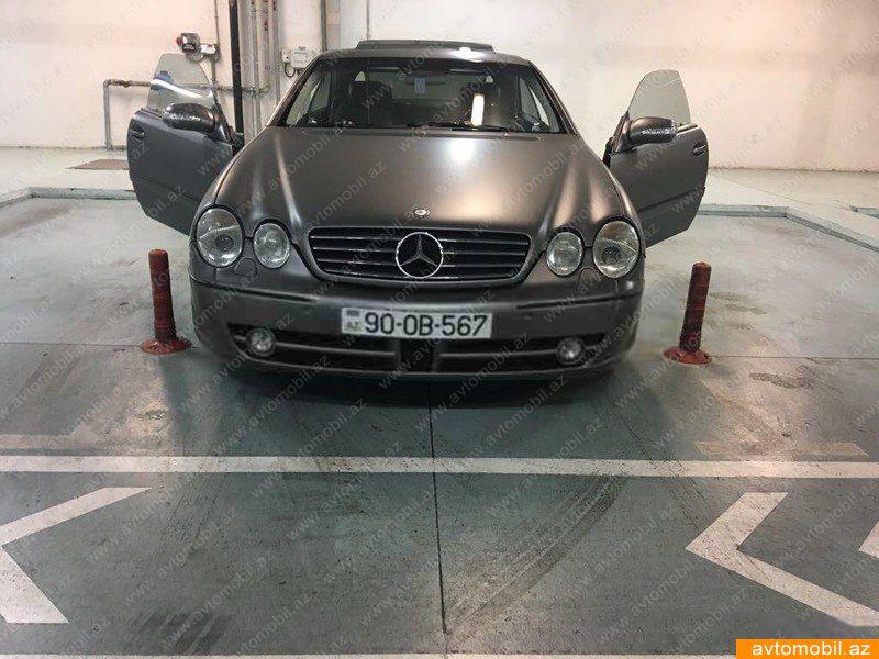 Mercedes-Benz CL 500 5.0(lt) 2000 Подержанный  $10920