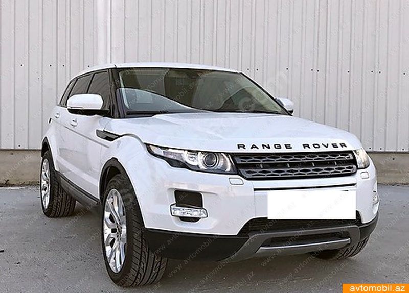 land rover range rover evoque second hand 2012 34000. Black Bedroom Furniture Sets. Home Design Ideas