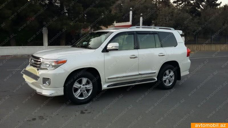 Toyota Land Cruiser 4.0(lt) 2012 İkinci əl  $37000