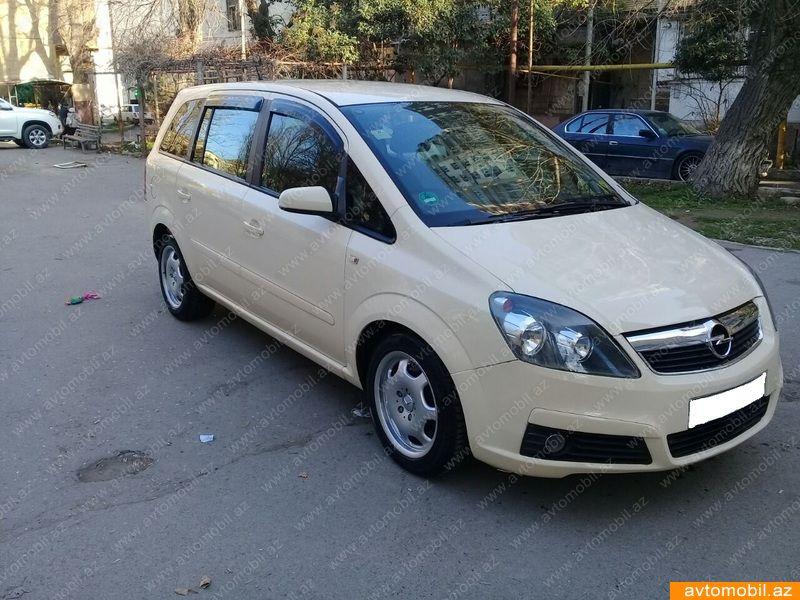 Opel Zafira 1.9(lt) 2008 İkinci əl  $7400