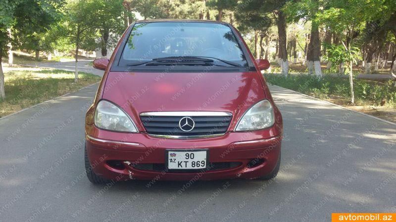 Mercedes-Benz A 160 1.6(lt) 2001 Second hand  $6500