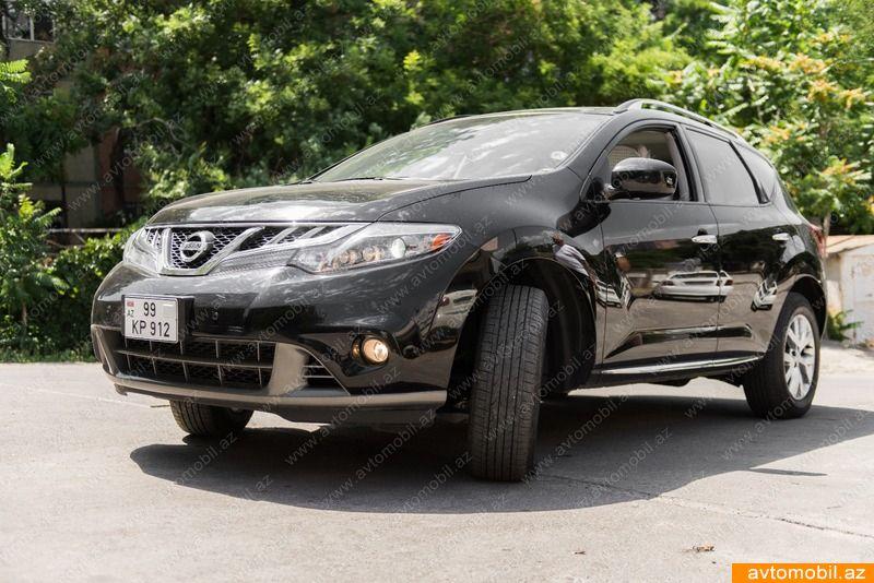 Nissan Murano 3.5(lt) 2013 İkinci əl  $36000