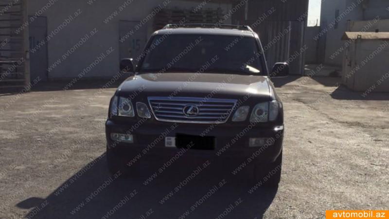 Lexus LX 470 4.7(lt) 2005 İkinci əl  $14200