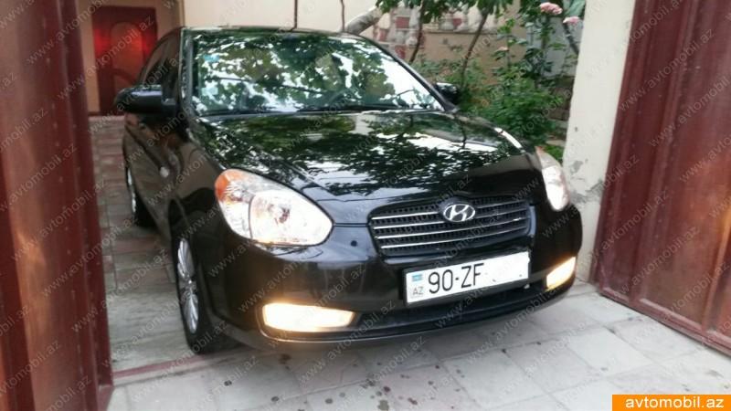 Hyundai Accent 1.4(lt) 2007 İkinci əl  $11200