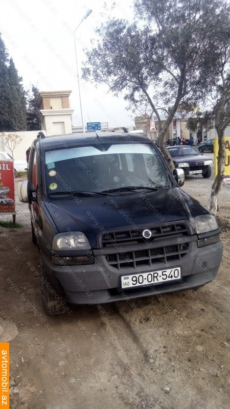 Fiat Doblo 2.0(lt) 2003 Подержанный  $7300