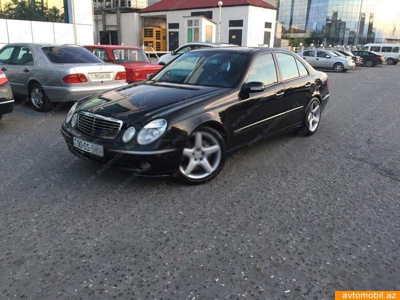 Mercedes-Benz E 500 5.0(lt) 2002 Yeni avtomobil  $6790