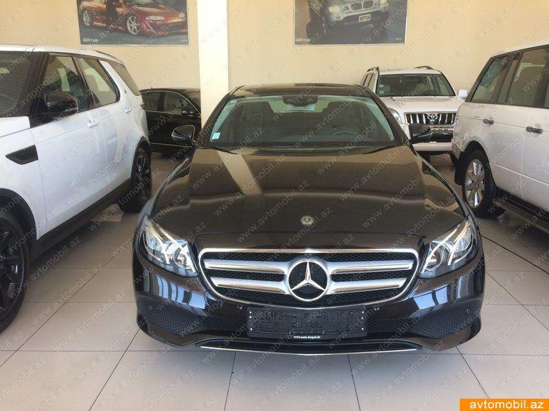 Mercedes-Benz E 220 2.0(lt) 2017 Yeni avtomobil  $63000