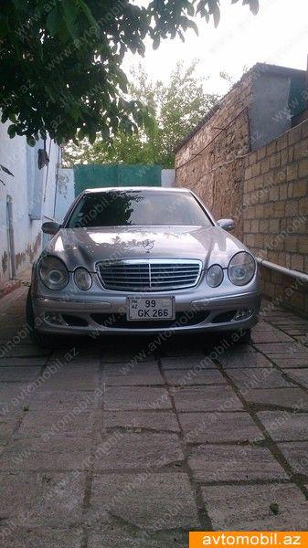 Mercedes-Benz E 240 2.6(lt) 2002 Подержанный  $10118
