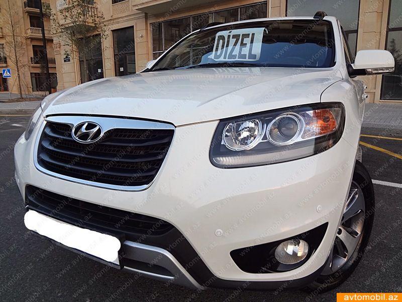 Hyundai Santa FE 2.2(lt) 2012 İkinci əl  $18500