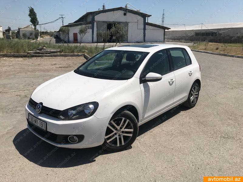 Volkswagen Golf 1.6(lt) 2011 İkinci əl  $9800