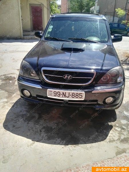 Hyundai Terracan 2.9(lt) 2004 İkinci əl  $8200