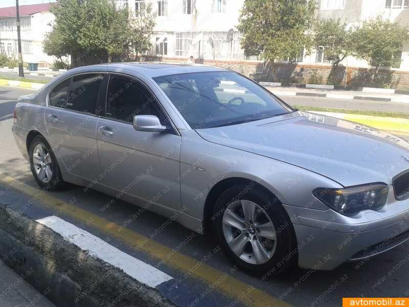 BMW 745 4.5(lt) 2002 İkinci əl  $8530