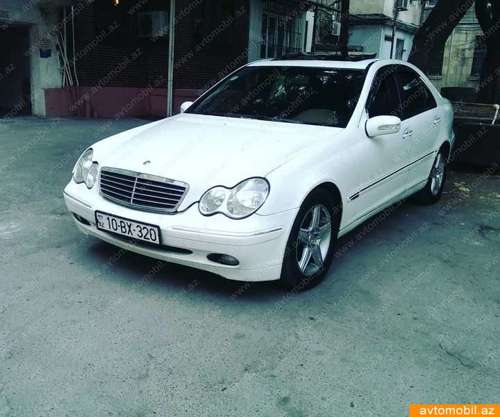Mercedes-Benz C 320 3.2(lt) 2001 İkinci əl  $9000