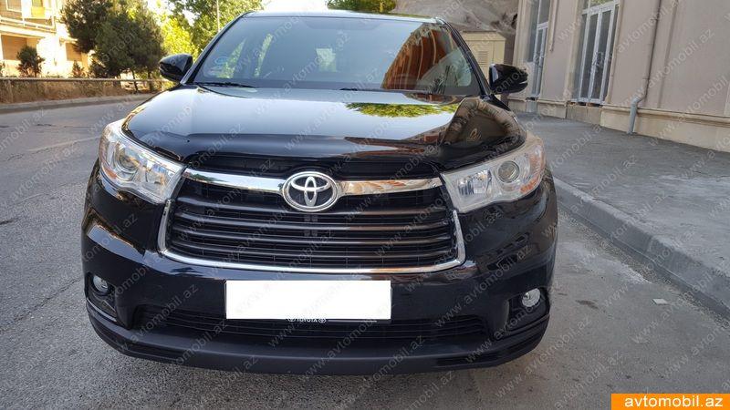 Toyota Highlander 3.5(lt) 2015 İkinci əl  $38500
