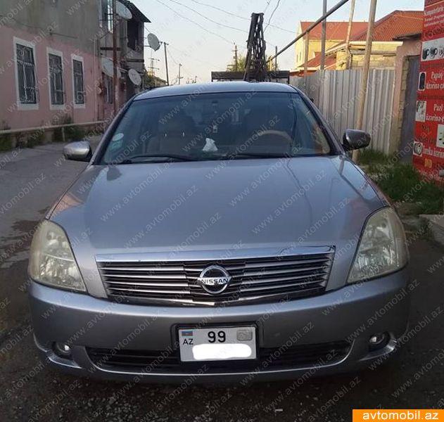 Nissan Teana 2.3(lt) 2005 İkinci əl  $7240