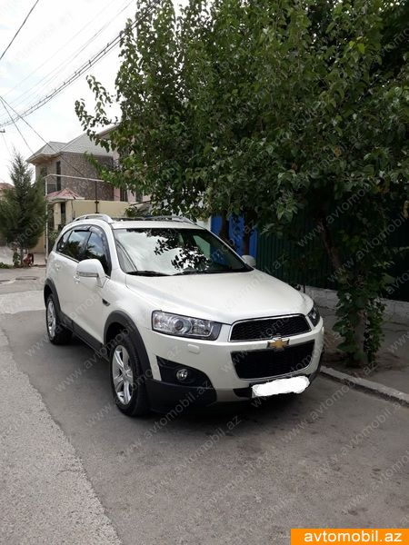 Chevrolet Captiva 2.4(lt) 2011 Second hand  $15500