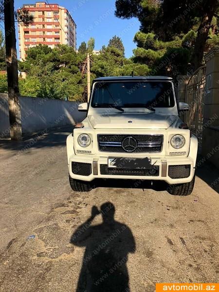 Mercedes-Benz G 63 AMG 6.3(lt) 2012 New car  $92000