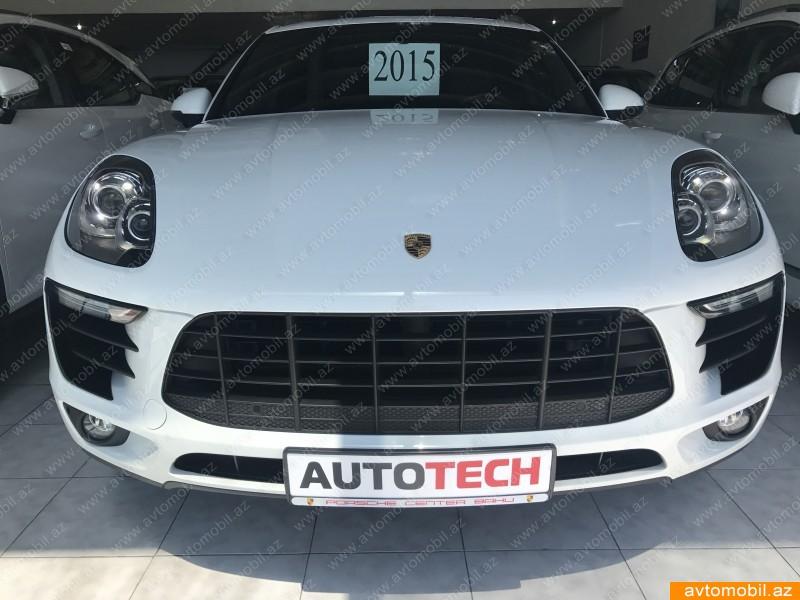 Porsche Macan 3.0(lt) 2015 İkinci əl  $48500