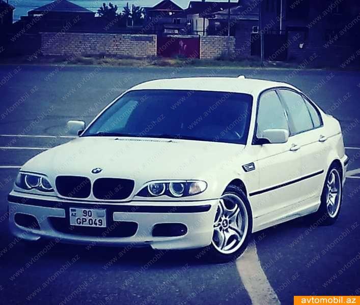 BMW 320 1.9(lt) 2002 İkinci əl  $13200