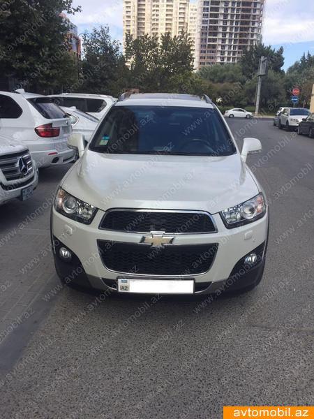 Chevrolet Captiva 2.4(lt) 2012 Second hand  $22400