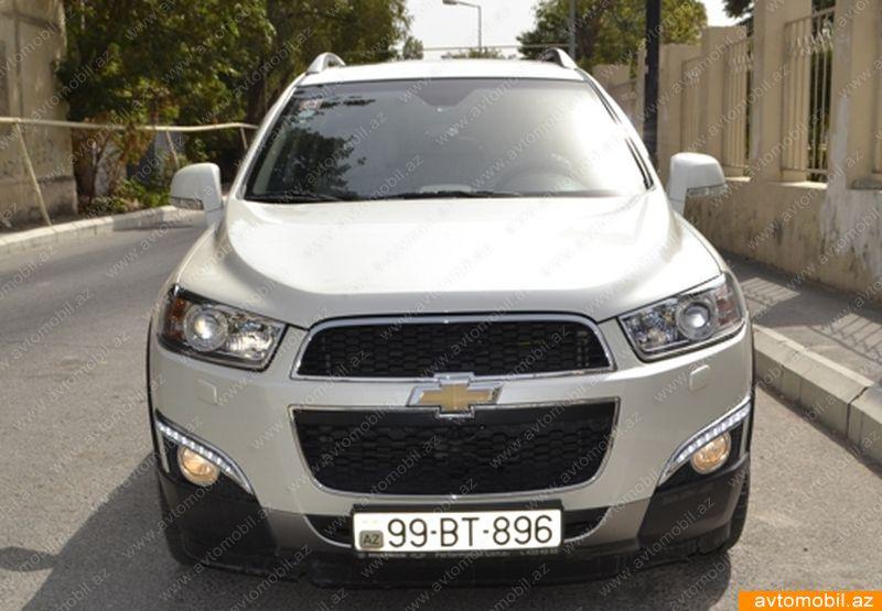 Chevrolet Captiva 3.0(lt) 2012 Подержанный  $30600