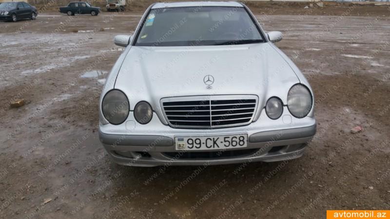Mercedes-Benz E 220 2.2(lt) 2002 İkinci əl  $13500
