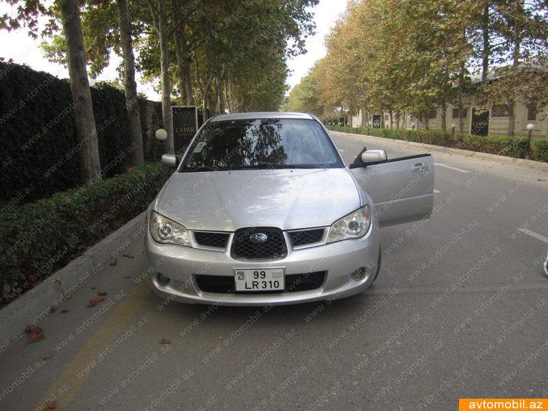 Subaru Impreza 1.5(lt) 2007 Yeni avtomobil  $11500