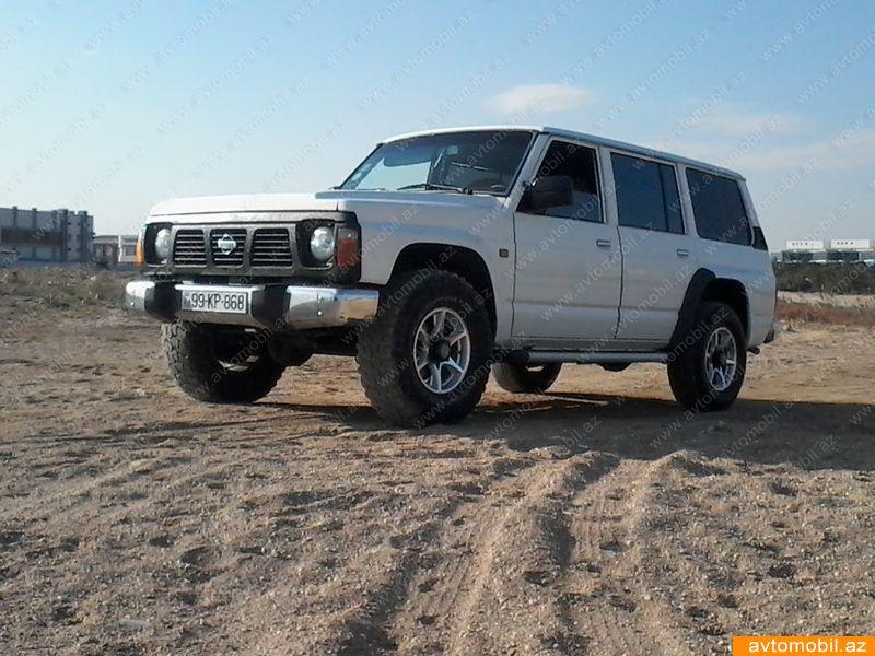 Nissan Patrol 3.0(lt) 1995 İkinci əl  $17000