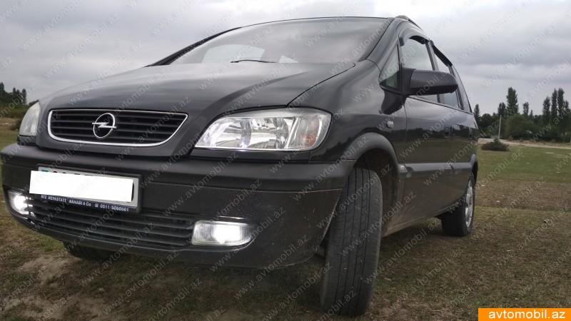 Opel Zafira 2.2(lt) 2001 İkinci əl  $6000