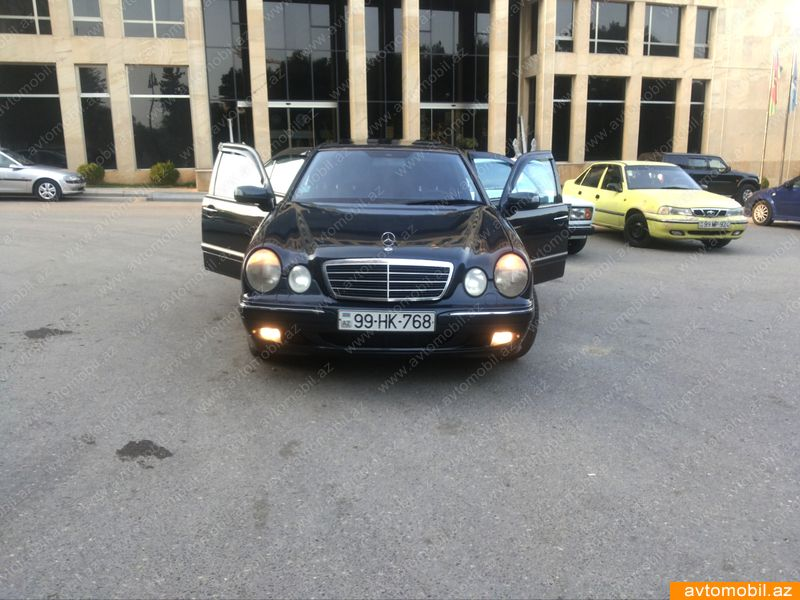 Mercedes-Benz E 270 2.7(lt) 2000 İkinci əl  $10000