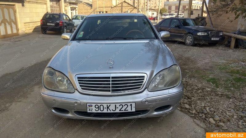 Mercedes-Benz S 430 4.3(lt) 2001 Second hand  $6500