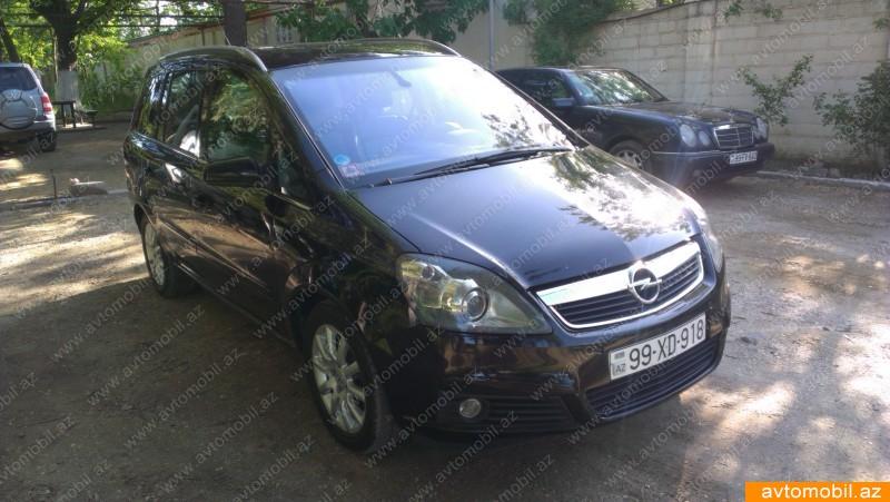 Opel Zafira 1.9(lt) 2006 İkinci əl  $14500