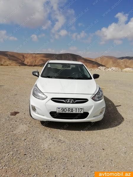 Hyundai Accent 1.4(lt) 2012 İkinci əl  $15800