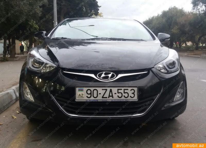 Hyundai Elantra 1.8(lt) 2014 İkinci əl  $21500