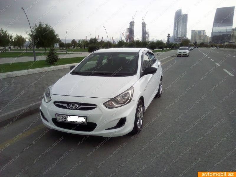 Hyundai Accent Urgent Sale Second Hand 2011 9000 Gasoline Transmission Automatic 129000 Baku SAHB 0556670701