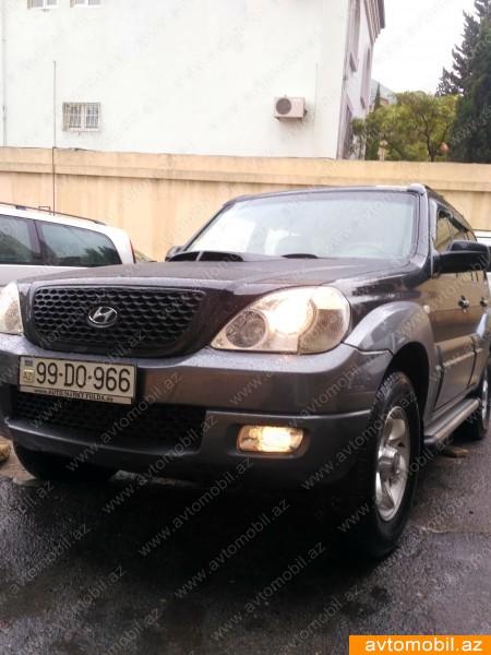 Hyundai Terracan 2.9(lt) 2004 İkinci əl  $8600
