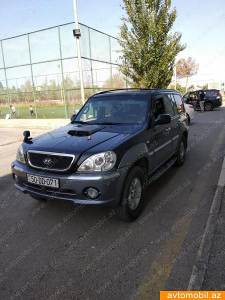 Hyundai Terracan 2.9(lt) 2003 İkinci əl  $8200