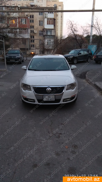 Volkswagen Passat 2.0(lt) 2008 İkinci əl  $9900