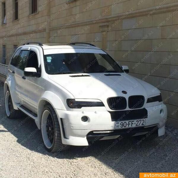 BMW X5 Hamman Urgent Sale Second Hand, 2001, $16000