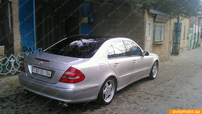 Mercedes benz e 240 avantgarde second hand 2003 17500 for Mercedes benz 2nd hand