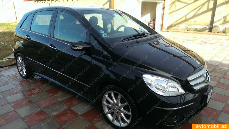 mercedes benz b 170 second hand 2006 14100 gasoline transmission automatic 103600 baku. Black Bedroom Furniture Sets. Home Design Ideas